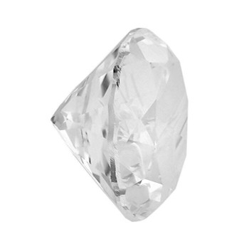 White Topaz 1mm Round Faceted Stone   WTPZ01