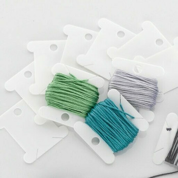 Plastic Embriodery Floss Bobbins | Sold by 10pcs | H197611