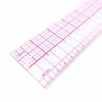 "Transparent Drafting Ruler | 45cm/18"" | H197617"