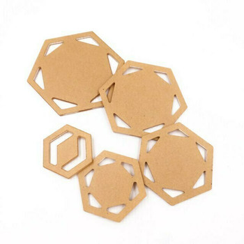 Hexagon Quilting Templates | Set of 5 | H197641