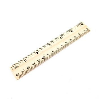 Wooden Ruler | 15cm | H197642
