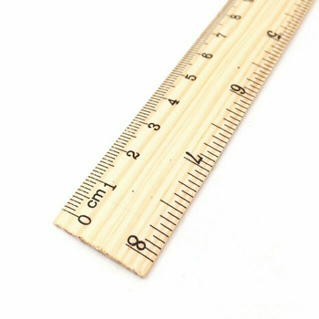 Wooden Ruler | 20cm | H197643