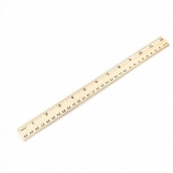 Wooden Ruler | 30cm | H197644
