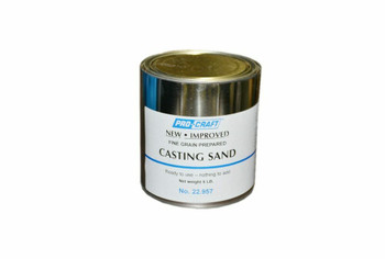 Sand for Sand Casting | 5 Lb Can | 22.957