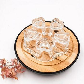 Glass Teapot Warmer | Hearts | H171206