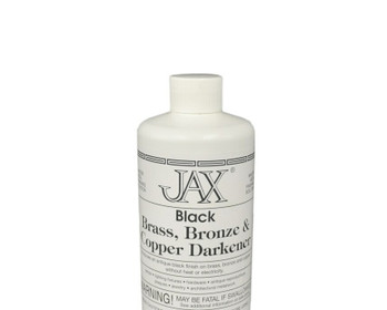Jax Black Darkener for brass, bronze and copper | Sold by Pint | 45.904