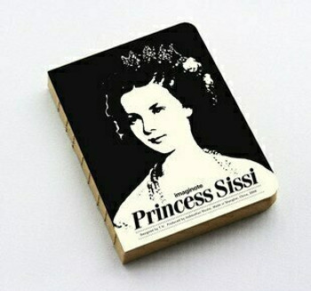 "imagionte Sketch Book ""Princess Sissi"" 11.9x15.9cm 320Pg | JI0014"