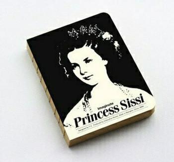 "imagionte Sketch Book ""Princess Sissi"" 11.9x15.9cm 320Pg   JI0014"