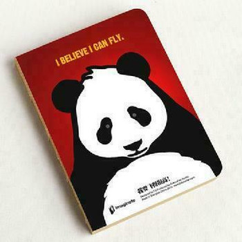 Panda Notebook |  11.9x15.9cm | 320 Gridded & Blank Pages | JI0015