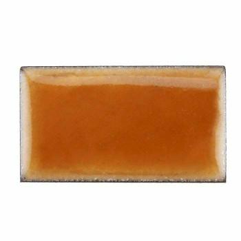 Thompson Lead-Free Transparent Enamel 0.3 oz Sample 2845 Mikado Orange