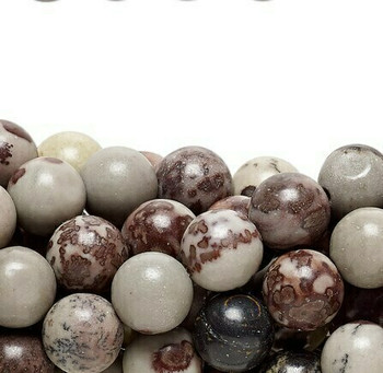 "Crazy Horse Stone 4mm Round Beads | Sold by 8"" Strand 