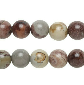 """Crazy Horse Stone 4mm Round Beads 