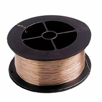 Copper Round Wire, 24Ga (0.51mm) | 1-Lb. Spool | 132324