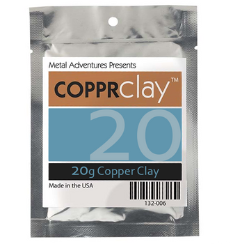 Copper Clay, COPPRclay, 20g | 132010.20