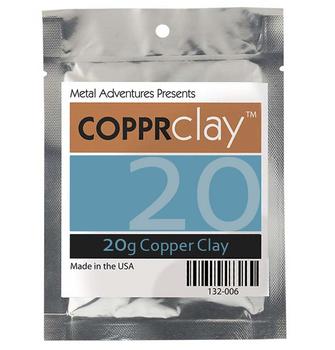 Copper Clay, COPPRclay, 20g   132010.20