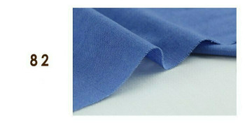 Fabric Linen-Cotton Blend | Cornflower Blue | KY82