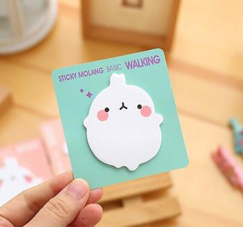 Chubby Bunny Sticky Notes   H2031A