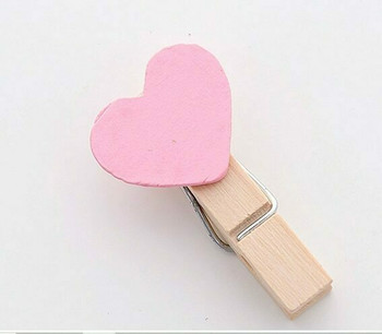 (DSC) Heart Note Clips   H203121