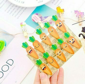 Carrot Clothespins | H203140