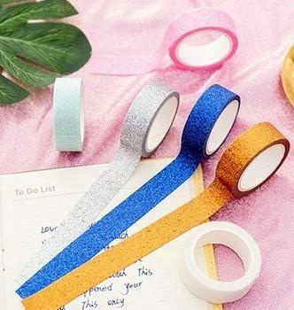 (AR) Glittery Washi Tape Set of 6 | H203144