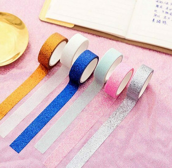 Glittery Washi Tape Set of 6   H203144