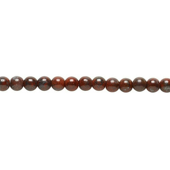"Round Golden Swan Jasper Beads 4mm   Sold by 1 Strand(16"")   BS00702"