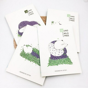 """Young Wild Free"" Bear Notebooks 