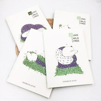 """Young Wild Free"" Bear Notebooks   JTN20"