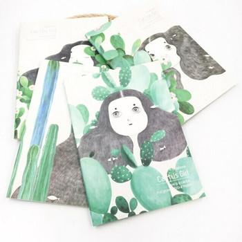 (DSC) Cactus Girl Notebooks | JTN21