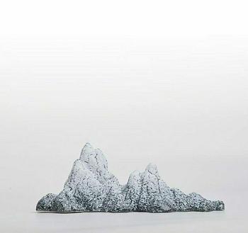 Ceramic Mountain Brush Holder | CMBH01