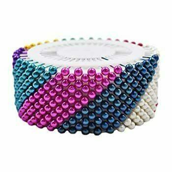 Dressmaker's Pin Wheel | Multicoloured | Pack of 480 | DMP480
