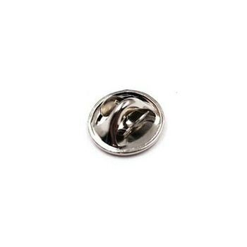 Base Metal Nickel-Plated Tie Tac Clutch | Sold by 50 Pk | 661228/50EA