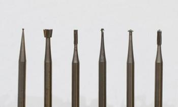 Detailers 6-piece Wax Bur Kit   BUR-906.00