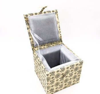 Fabric Bound Padded Gift Box | Large | Style B | FGBLB