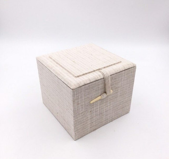 Fabric Bound Padded Gift Box | Large | Style D | FGBLD