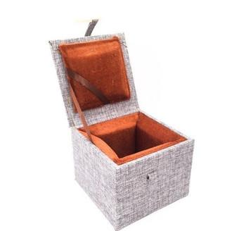 Fabric Bound Padded Gift Box | Medium | Style A | FGBMA