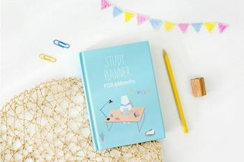 Joytop | A5 Sketchbook | Creative Hardcover Planner 6 months| 130 x 180 mm 268pgs | 9411