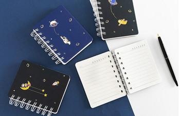 Joytop | Space | Mini Spiral Planner Notebook | C7 9x11.5cm 81sheets | 9416