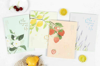 Joytop   A6 Line Notebook   The Fragrance of Life   105x148mm 42sheets   9405