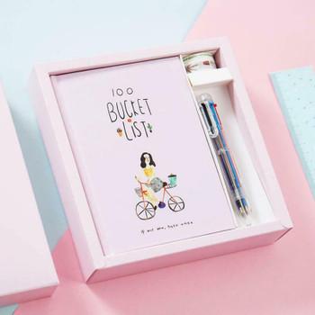 Joytop   Soy Ink 100 Bucket List Gift Set   9407U