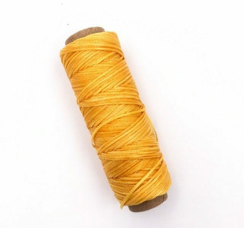 1.5mm Waxed Nylon Cord | Tangerine | Sold By 50m Spool | NCTG15