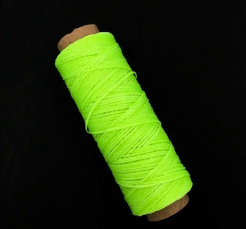 1.5mm Waxed Nylon Cord | Neon Green | Sold By 50m Spool | NCNG15