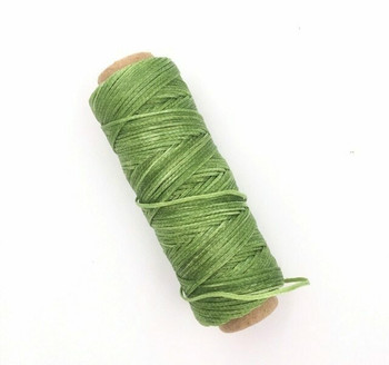 2mm Waxed Nylon Cord | Pear Green | Sold By 50m Spool | NCPG20