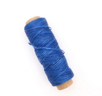 1.5mm Waxed Nylon Cord | Royal Blue | Sold By 50m Spool | NCRB15