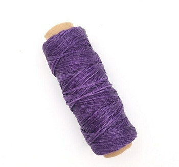 2mm Waxed Nylon Cord | Grape Purple | Sold By 50m Spool | NCGP20