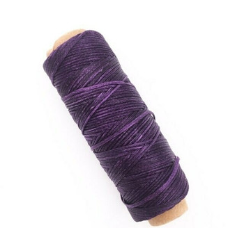1.5mm Waxed Nylon Cord | Eggplant Purple | Sold By 50m Spool | NCEP15