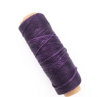 2mm Waxed Nylon Cord | Eggplant Purple | Sold By 50m Spool | NCEP20