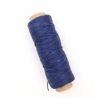 1.5mm Waxed Nylon Cord   Indigo Blue   Sold By 50m Spool   NCIB15