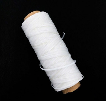 2mm Waxed Nylon Cord | White | Sold By 50m Spool | NCWH20