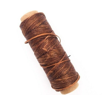 1.5mm Waxed Nylon Cord   Penny Brown   Sold By 50m Spool   NCPB15